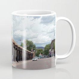 Santa Fe Old Town Square, No. 5 of 7 Coffee Mug