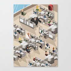 Spiderman's Open Space Canvas Print