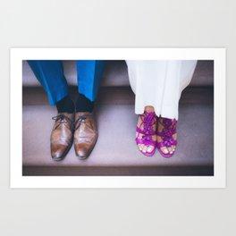 Feet 71 Cropped Art Print