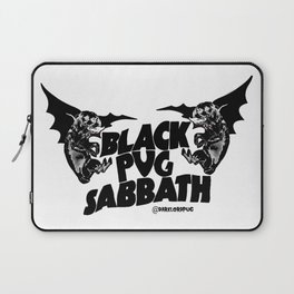 Pug Sabbath Laptop Sleeve
