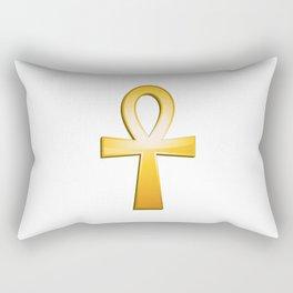 Ankh - egyptian symbol Rectangular Pillow