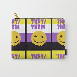 They/Them Carry-All Pouch