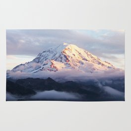 Marvelous Mount Rainier 2 Rug