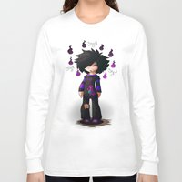 nemo Long Sleeve T-shirts featuring Nemo The Emo by Razinoats