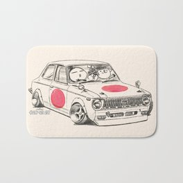 Crazy Car Art 0168 Bath Mat