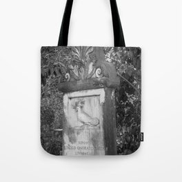 rooster grave Tote Bag