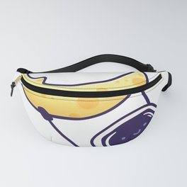 Moon Planet Space Astronaut swing Fanny Pack