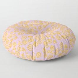 Fun Spiral Pattern Floor Pillow