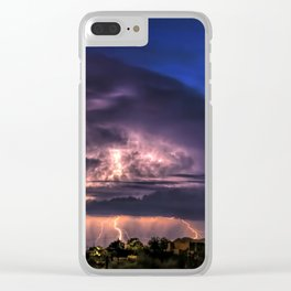 The Night They Returned Clear iPhone Case