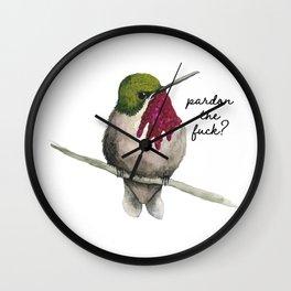 Pardon? Wall Clock