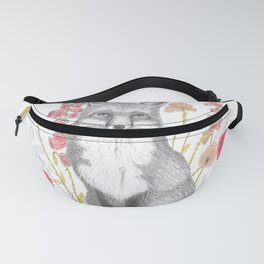 fox among foxgloves Fanny Pack
