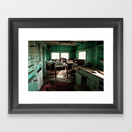 The Workshop Framed Art Print