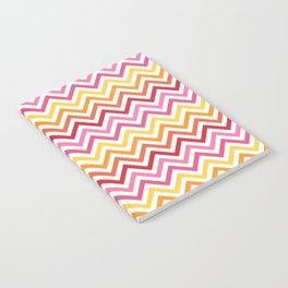 Rainbow Chevron #1 Notebook