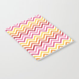 Rainbow Chevron #1 Notebook