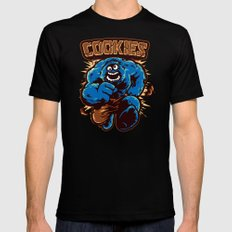 Cookies! Black LARGE Mens Fitted Tee