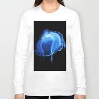 jelly fish Long Sleeve T-shirts featuring Jelly Fish II by Kerri Ann Crau