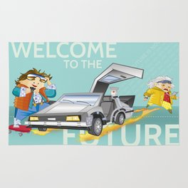 FUTURE IS NOW! Rug