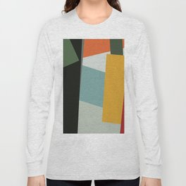 Abstract Composition 526 Long Sleeve T-shirt