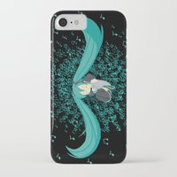 vocaloid iPhone & iPod Cases featuring MikuMiku2 by gohe1090