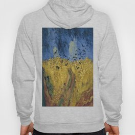 Vincent van Gogh's Wheatfield with Crows Hoody