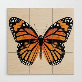 Monarch Butterfly   Vintage Butterfly   Wood Wall Art