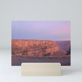 Grand Canyon Lavender Sunrise Mini Art Print