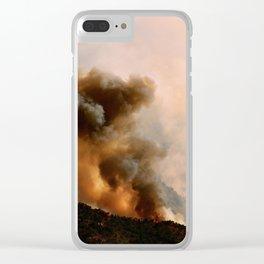 Cedar City Forest Fire - III Clear iPhone Case