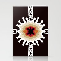 gift card Stationery Cards featuring A Gift for You by barefoot art online