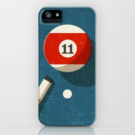 BILLIARDS / Ball 11 iPhone Case