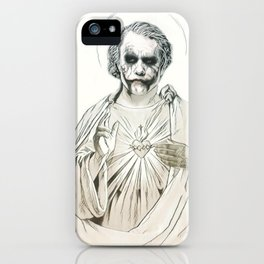 Agent Of Chaos. iPhone Case