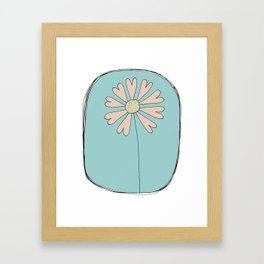 Flowers Have Hearts Framed Art Print