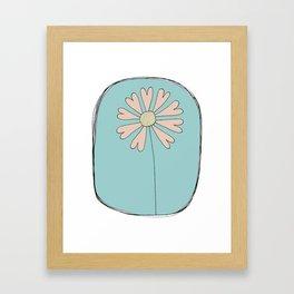 Flowers Have Hearts Framed Art Print