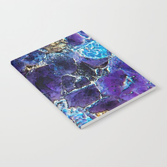 AMETHYST ABSTRACT Notebook