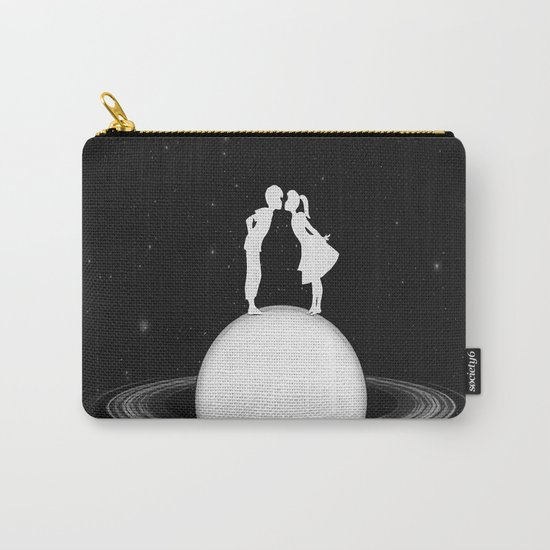 Love on Saturn Carry-All Pouch