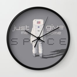 Just give me some space Wall Clock