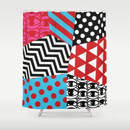 pattern bonanza Shower Curtain
