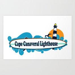 Cape Canaveral. Art Print