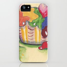 Sweet frog iPhone Case