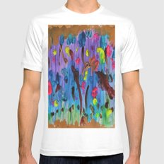 My palette Mens Fitted Tee MEDIUM White