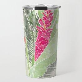 Tropical Bouquet  Travel Mug