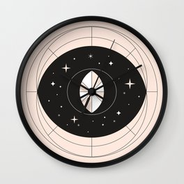 a universe in your eyes Wall Clock