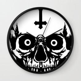 Most Ugly Satanic Skull Wall Clock