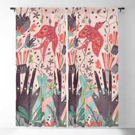 Spring Bird Blackout Curtain