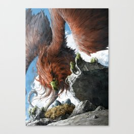 Griffin Mom Canvas Print