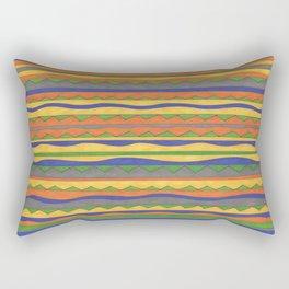 In Bold Color Rectangular Pillow