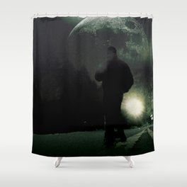 Mystery Road Shower Curtain