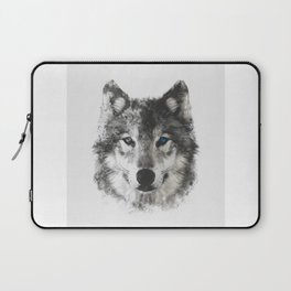 Wolf Face Laptop Sleeve