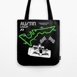 Austin F1 Tote Bag