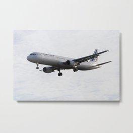 Air France Airbus A321 Metal Print
