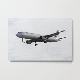 Air France Airbus A321 Metal Print